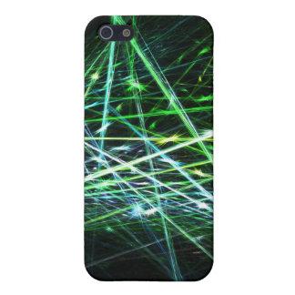 Chispas del verde - caso del iPhone iPhone 5 Protector