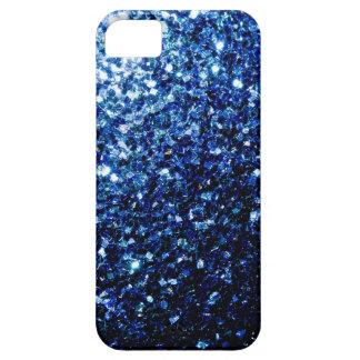 Chispas hermosas del azul iPhone 5 Case-Mate cobertura