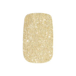 Chispas modernas del brillo del oro pegatina para uñas