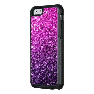 Chispas rosadas púrpuras hermosas del brillo de funda otterbox para iPhone 6/6s