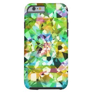 Chispas y brillo coloridos abstractos de los funda de iPhone 6 tough