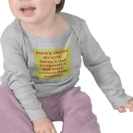 chiste anti de obama camisetas