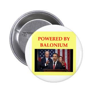 chiste anti de obama pin redondo 5 cm