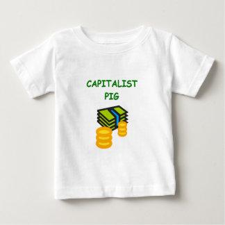 chiste capitalista del cerdo t shirts