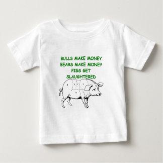 chiste capitalista del cerdo tshirt