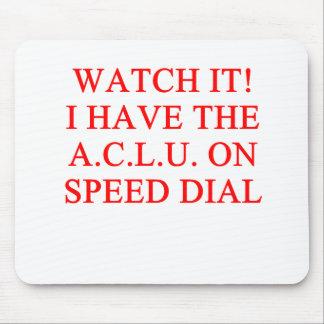 Chiste de ACLU Alfombrilla De Raton