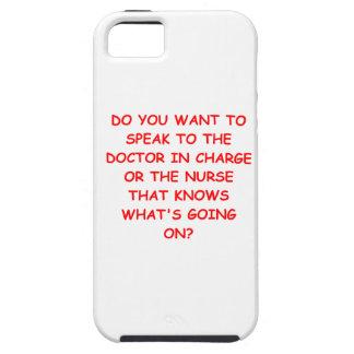 chiste de cuidado iPhone 5 cárcasas