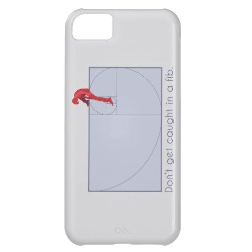 Chiste de Fibonacci Funda Para iPhone 5C