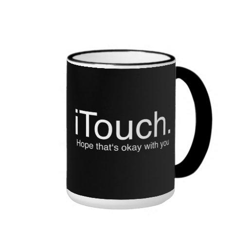chiste de iTouch Taza