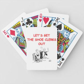 chiste de juego barajas de cartas