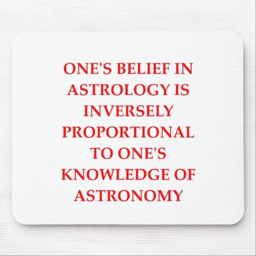 chiste de la astrología de la astronomía tapete de ratones