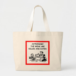 chiste de la astronomía bolsa de mano