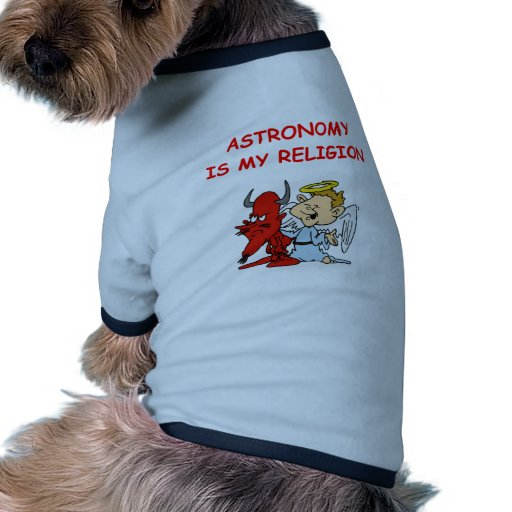 chiste de la astronomía camisetas mascota