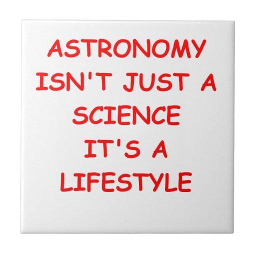 chiste de la astronomía tejas  cerámicas