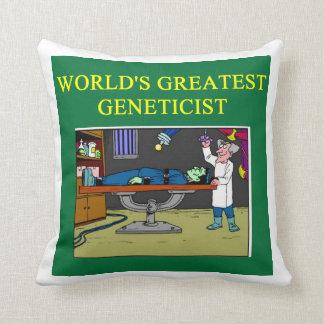 chiste de la biología cojín