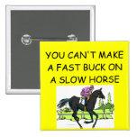 Chiste de la carrera de caballos pin
