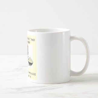 chiste de la cerveza el chauvinista masculino tazas de café