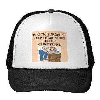 chiste de la cirugía del cirujano plástico gorros bordados