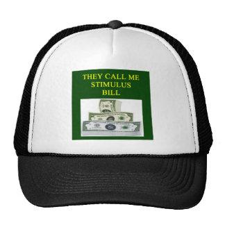 chiste de la cuenta de estímulo gorra