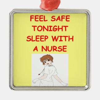 chiste de la enfermera ornamentos de reyes