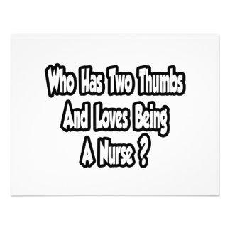 Chiste de la enfermera… dos pulgares comunicados personales