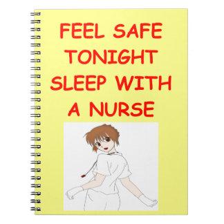 chiste de la enfermera note book
