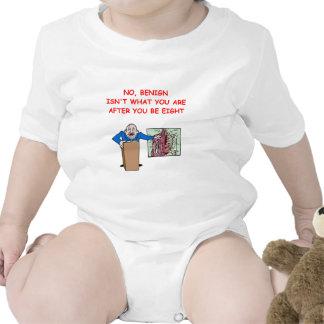 chiste de la escuela del MED Traje De Bebé