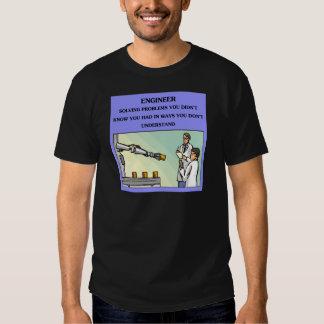 chiste de la ingeniería del ingeniero camisas