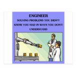 chiste de la ingeniería del ingeniero postal