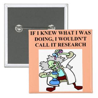 chiste de la investigación pin cuadrado