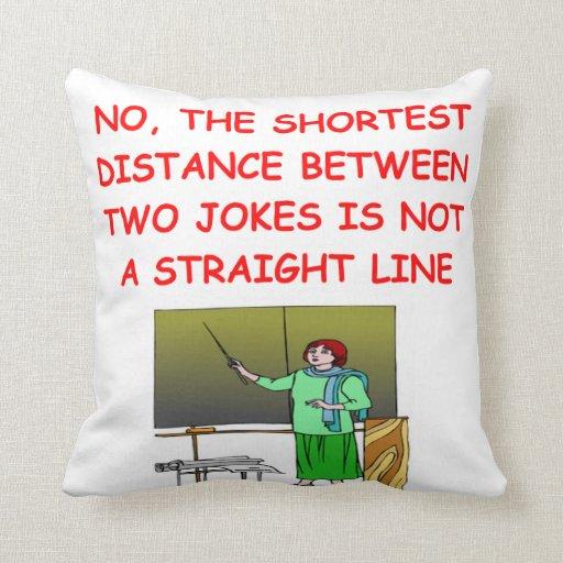 chiste de la matemáticas almohadas