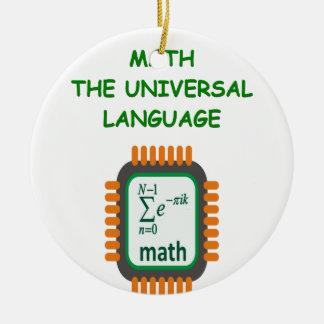 chiste de la matemáticas adornos de navidad
