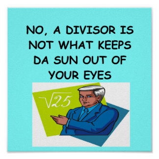 chiste de la matemáticas posters