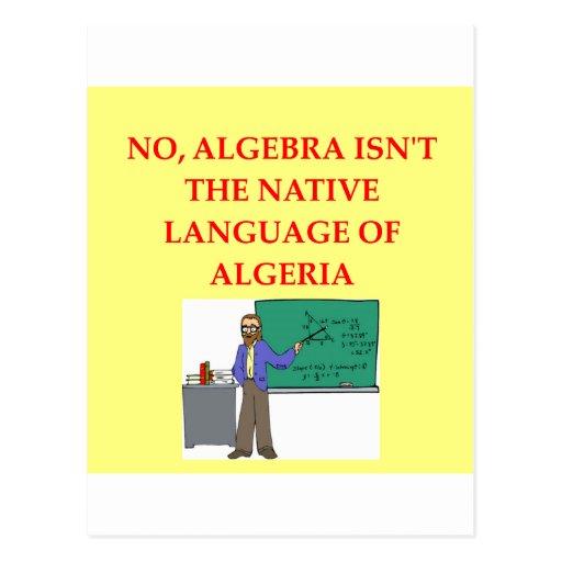 chiste de la matemáticas postales