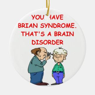 chiste de la neurología ornamentos de reyes