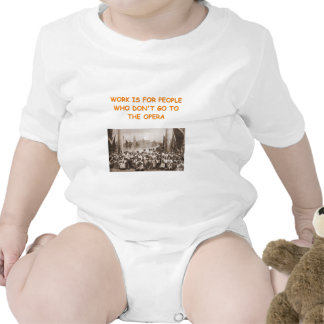 chiste de la ópera trajes de bebé