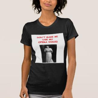 chiste de la ópera camiseta
