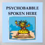 chiste de la psicología impresiones
