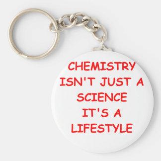 chiste de la química llavero