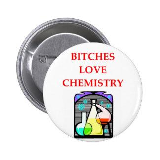 chiste de la química pin redondo 5 cm