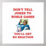 chiste de la química posters