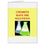 chiste de la química tarjetón