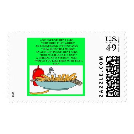 chiste de los alimentos de preparación rápida de sello