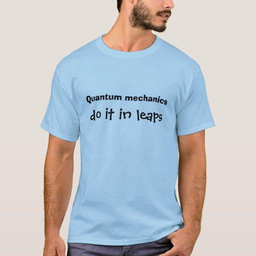Chiste de los mecánicos de Quantum Playera