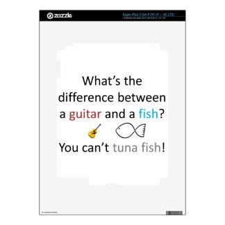 Chiste de los pescados de atún iPad 3 pegatinas skins