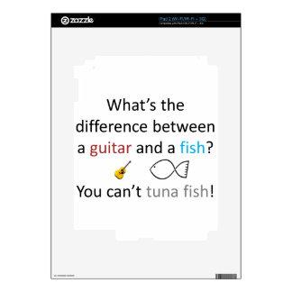 Chiste de los pescados de atún skin para el iPad 2
