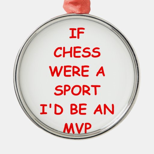 chiste del ajedrez adorno