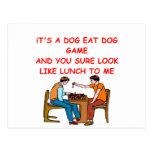 chiste del ajedrez postales