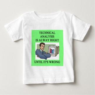chiste del análisis técnico tshirt