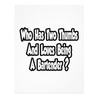Chiste del camarero… dos pulgares tarjetas informativas